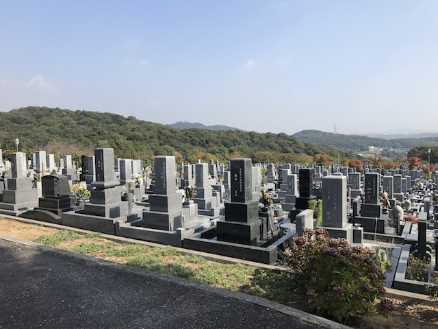 加古川市営日光山墓園12