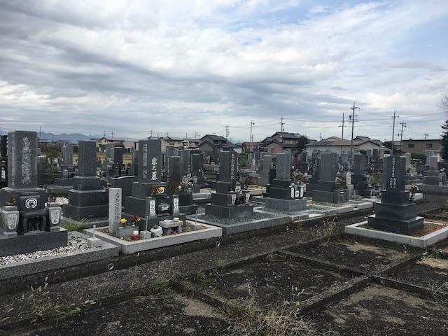 本巣市営溝口墓地-霊園全体
