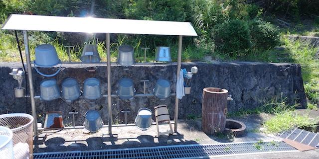 名張市営 東山霊園−給水設備