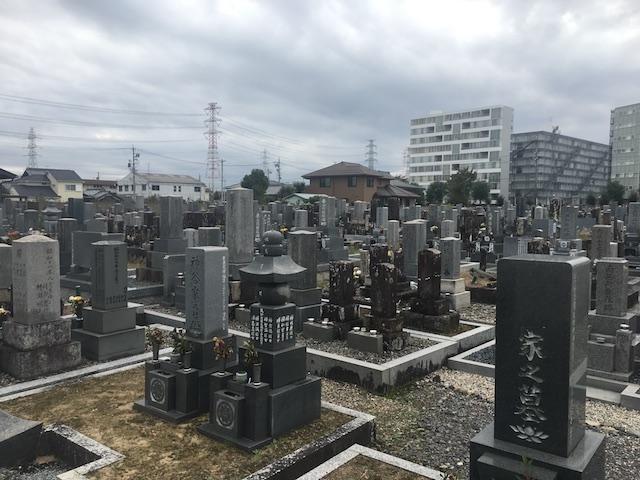 北方町営北方墓地-霊園全体
