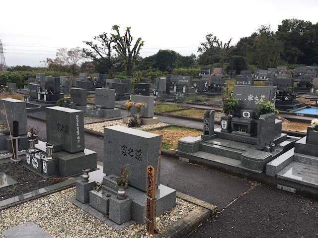 美濃加茂市営前平霊苑-墓-通常区画