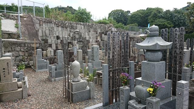 西福寺霊園ー霊園2