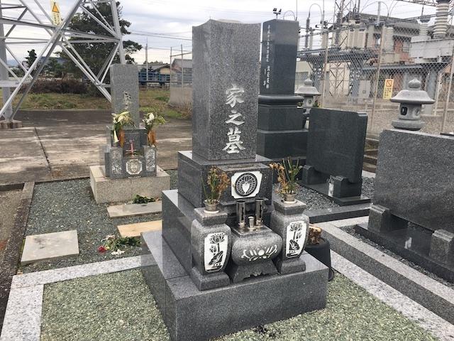 本巣市営住吉墓地-墓-墓石