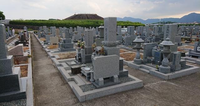 広陵町営石塚霊園−霊園3