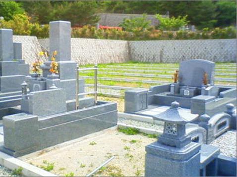 白水峡公園墓地01