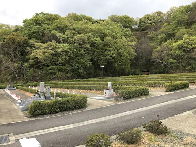 根来公園墓地1