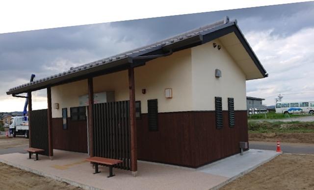 広陵町営石塚霊園−トイレ