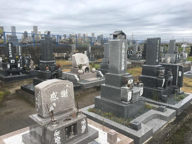 大垣市営墨俣第1南霊苑-墓-通常区画