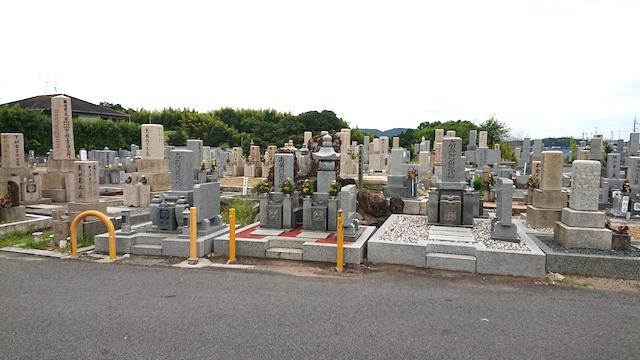 穴虫二上共同墓地−霊園全体