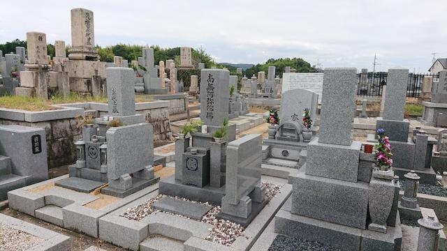 穴虫二上共同墓地−霊園1