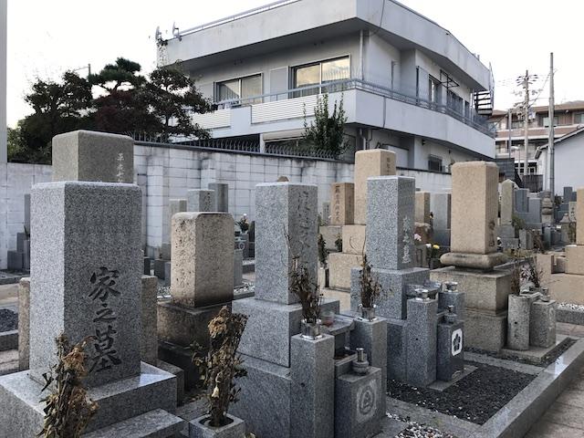 中勝寺墓地01