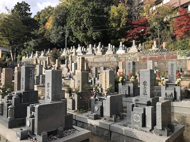西墓地 岡本光明寺07
