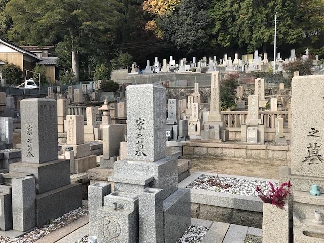 西墓地 岡本光明寺03