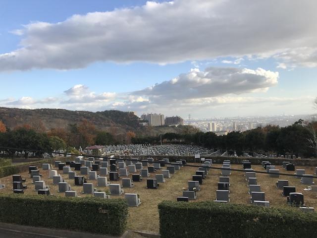 宝塚市営 長尾山霊園01