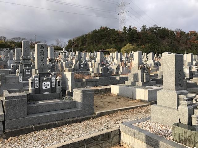 宝塚市営 長尾山霊園07
