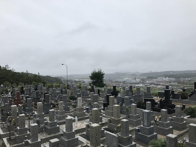 城ヶ丘墓地公園07