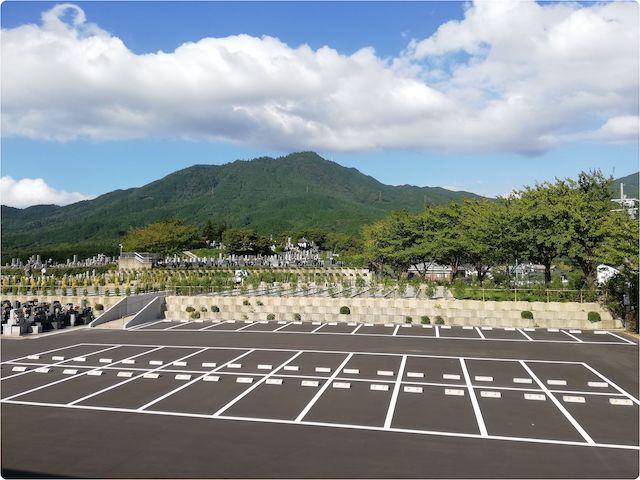 博多霊苑−基本−新区画駐車場