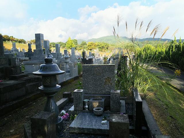 大牟田市営 櫟野墓園4