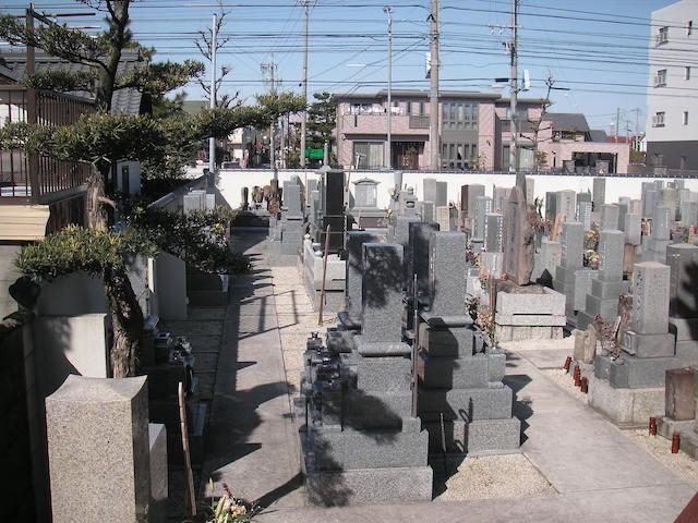 楽音寺墓苑01
