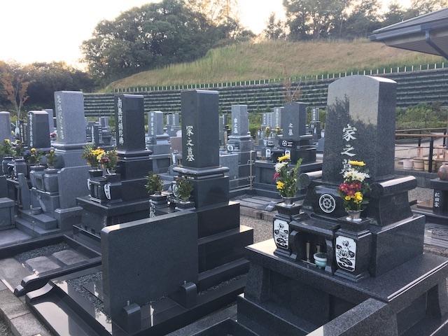 武豊町営やすらぎの森墓園02