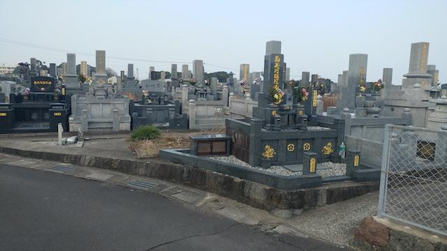 寺松山墓地4