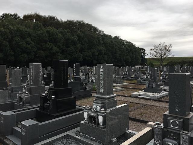 稲沢市営 祖父江霊園5
