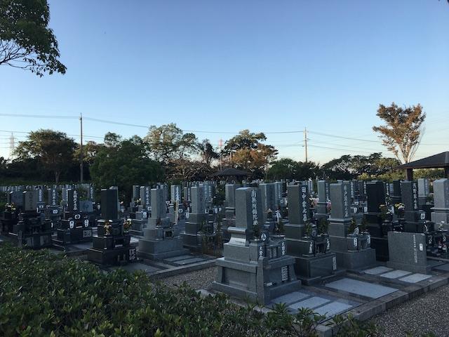 武豊町営やすらぎの森墓園04
