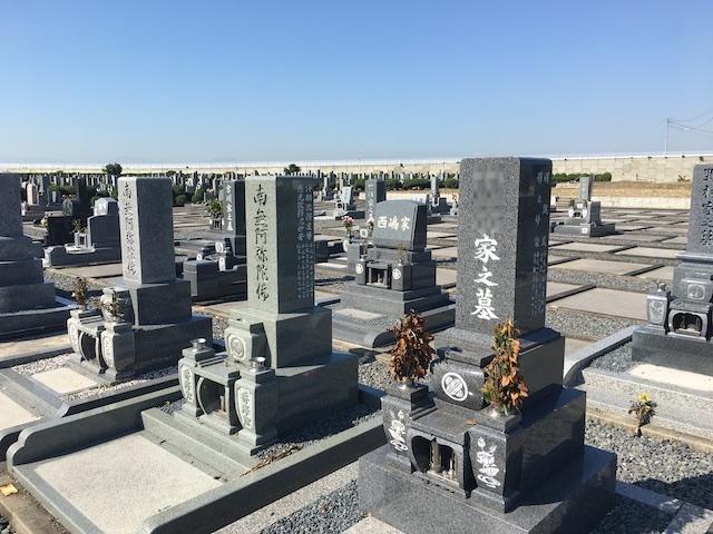 弥富市営 潮見台霊園02