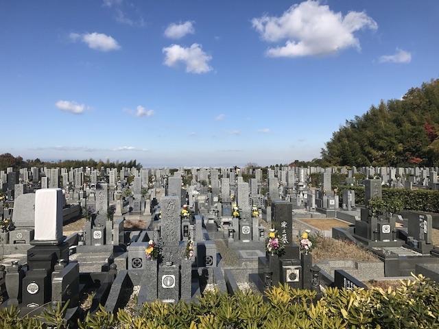 貝塚市営 公園墓地03