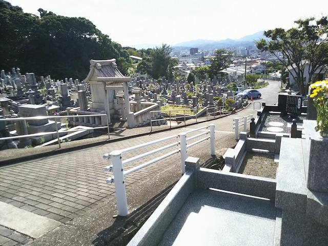 北九州市立 足立霊園3
