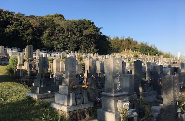 半田市営 黒石墓地04