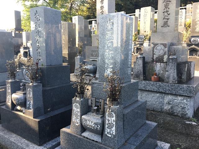 半田市営 黒石墓地01