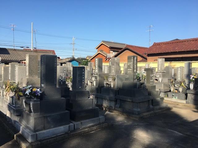 碧南市営 明石墓園01