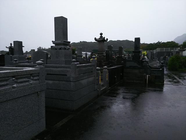 島原市営 釘原墓地4