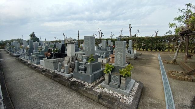 磐田市 富里霊園3