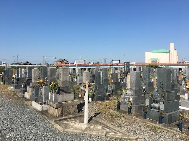 清須市営 新川墓地05