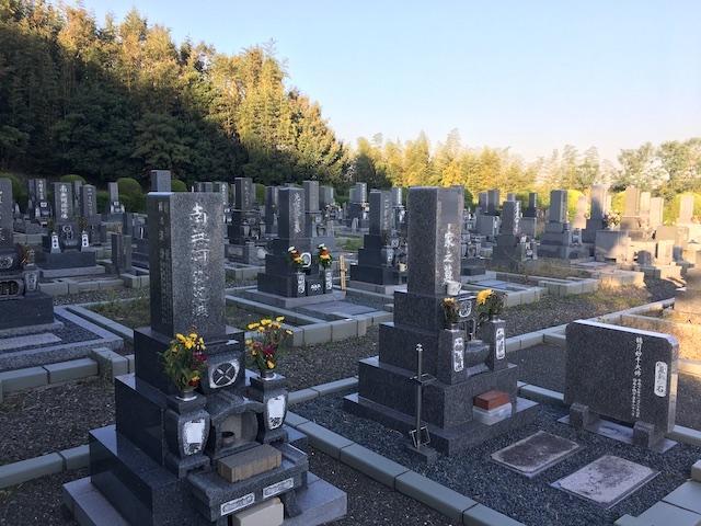 常滑市営 高坂墓園05