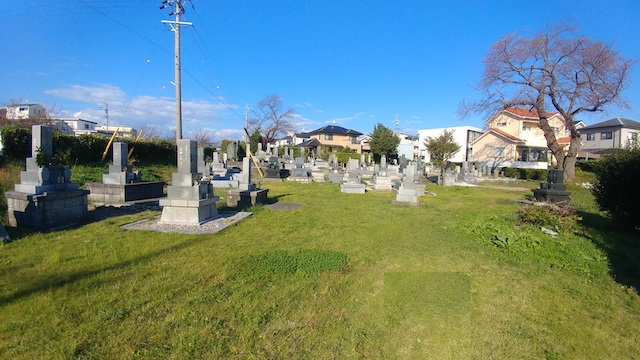 見付景ノ宮墓地2