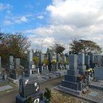 豊橋市 東細谷墓地