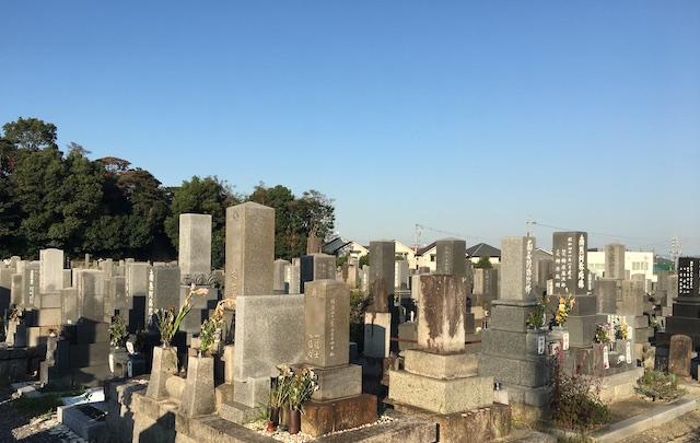 半田市営 北谷墓地02
