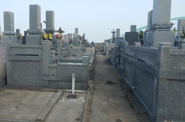 寺松山墓地1