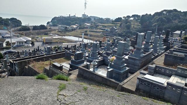 寺松山墓地6