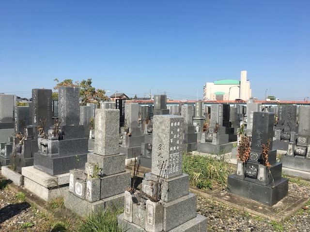 清須市営 新川墓地02