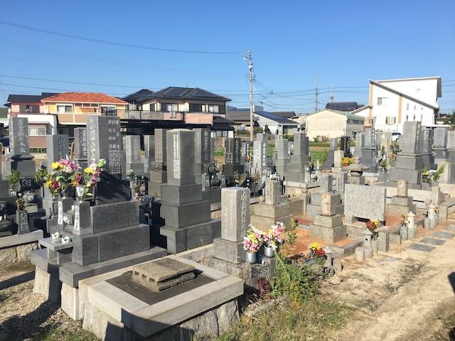碧南市営 神有墓園05
