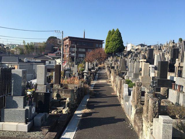横浜市営 三ツ沢墓地04