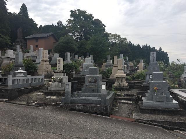 南砺市営 井波墓地-02