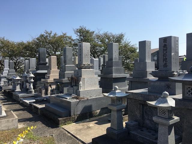 高岡市営 福岡墓地05