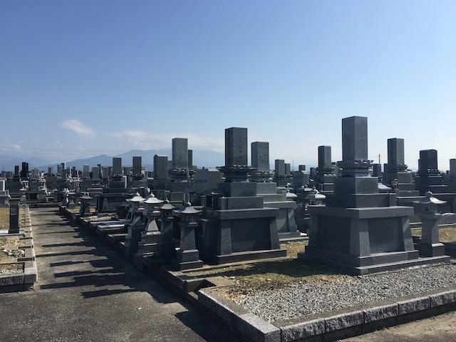 入善町やすらぎ公園墓地01