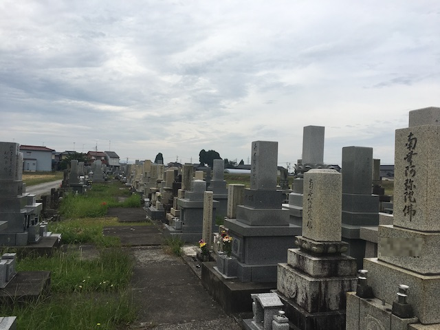 高岡市営 戸出墓地04