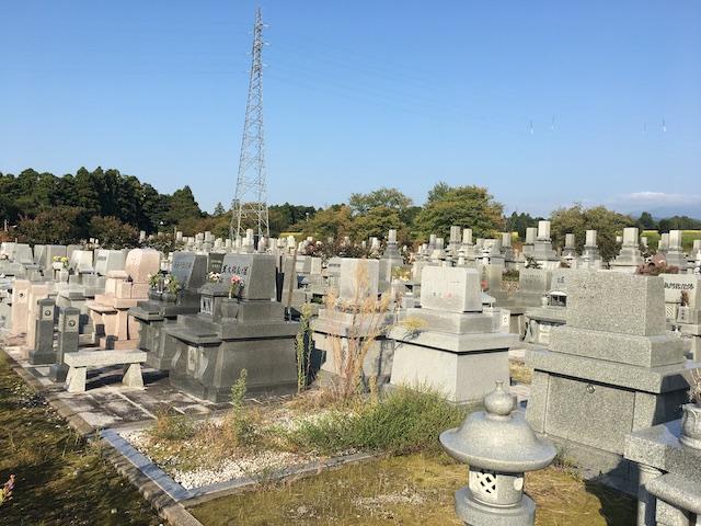 滑川市営墓地公園02